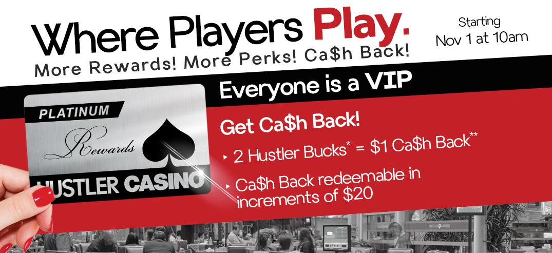 Hustler live vip promotion