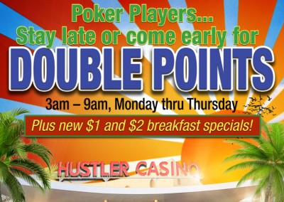 Double Points Poker
