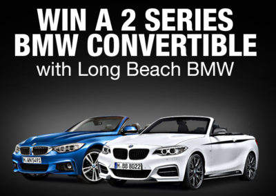 2 2-Series BMW Convertible Giveaway