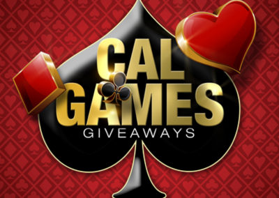 NEW Cal Games $500 Hourly Giveaway