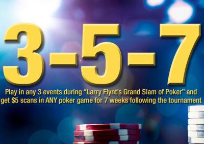 3-5-7 Grand Slam of Poker