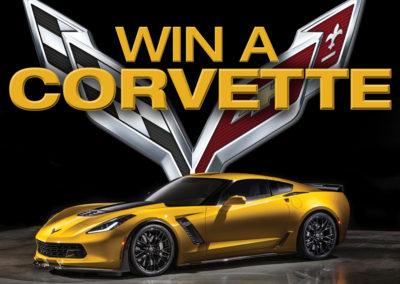 Win a 2016 Corvette