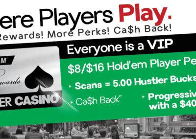 $8/$16 Hold'em Player Perks