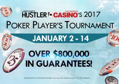 Hustler Casino's 2017 Tournament