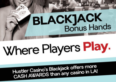 Blackjack Bonus Hands
