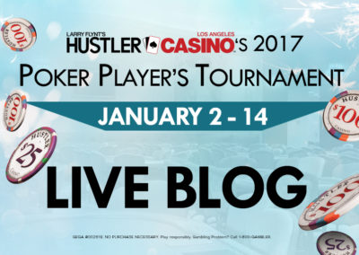 2017 Poker Player's Tournament LIVE BLOG