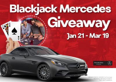 Blackjack Mercedes Giveaway