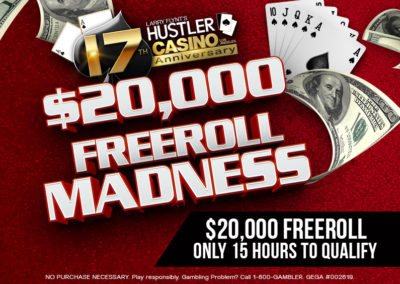 17th Anniversary $20,000 Freeroll Madness