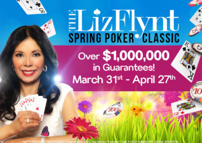 The Liz Flynt Spring Poker Classic '17