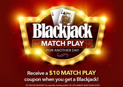 Blackjack Match Play For Another Day