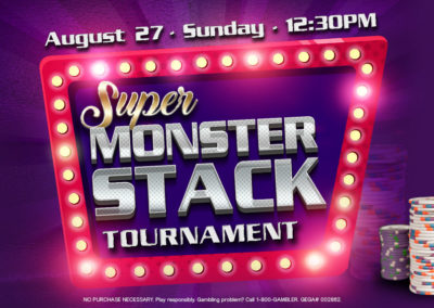Super Monster Stack Tournament