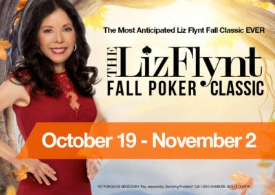 Liz Flynt Fall Poker Classic '17