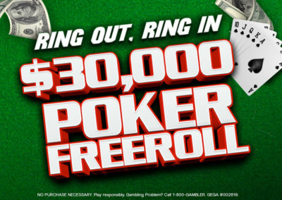 $30,000 Poker Freeroll