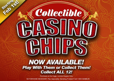 Collectible Casino Chips