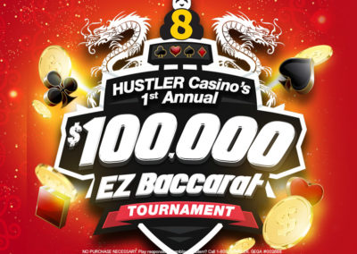 1st Annual $100,000 EZ Baccarat Tournament