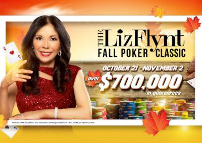Liz Flynt Fall Poker Classic 2018