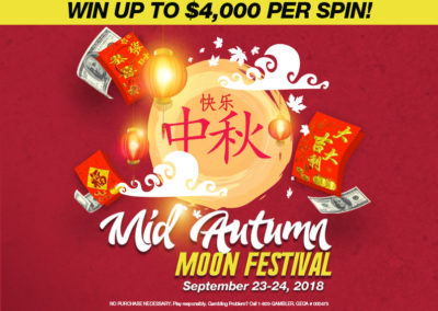 Moon Festival Spin and Win