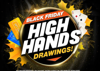 Black Friday High Hands Drawings