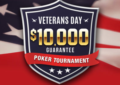 Veterans Day $10,000 Poker Tournament