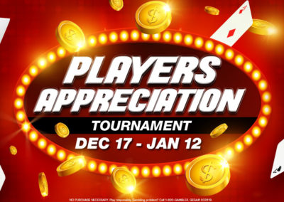 Players Appreciation Tournament