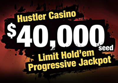 $40,000 Progressive Jackpot