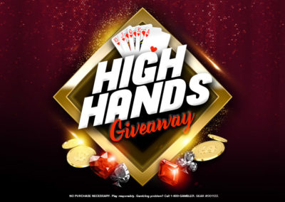 High Hands Giveaway