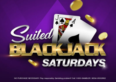 Suited Blackjack Saturdays