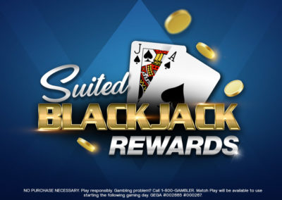 Suited Blackjack Rewards