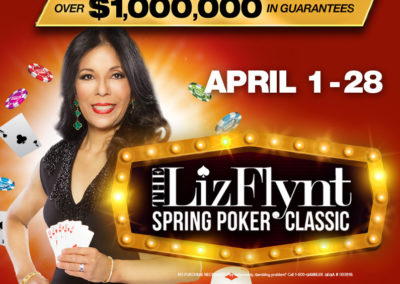 Liz Flynt Spring Poker Classic 2019