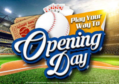 Play Your Way To Opening Day