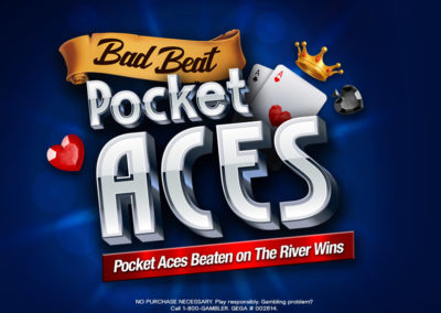 Bad Beat Pocket Aces 2019