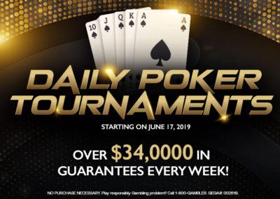 Daily Poker Tournaments