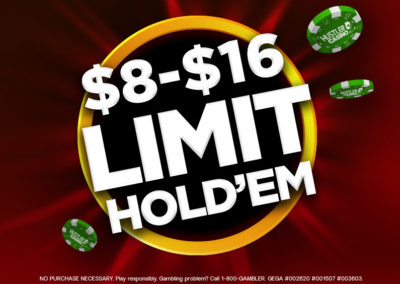 $8-$16 Limit Hold'Em LA's Best