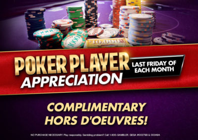Poker Player Appreciation