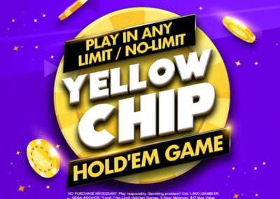 Limit / No-Limit Yellow Chip Hold'Em