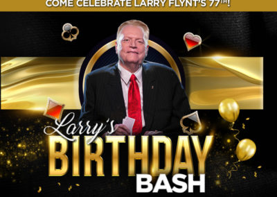 Larry's Birthday Bash