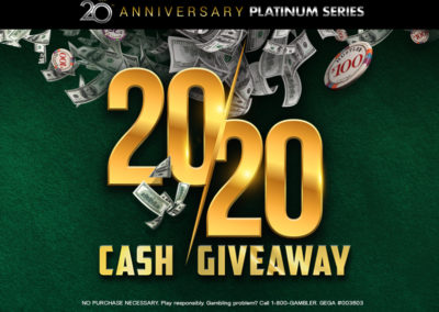 2020 Cash Giveaway