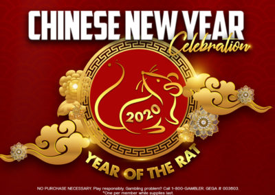 Chinese New Year 2020 Celebration