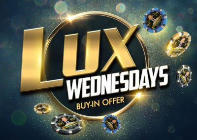 Lux Wednesdays Buy-In Offer