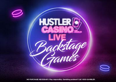 HUSTLER Casino Live Backstage Games
